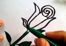 Dibujos de flores
